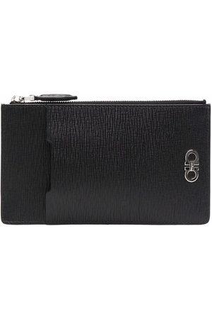 Salvatore Ferragamo Men Wallets - Revival Gancini smartphone wallet holder