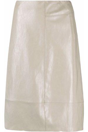 Luisa Cerano Women Skirts - Straight-cut skirt - Neutrals