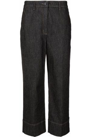 Luisa Cerano Cropped denim jeans