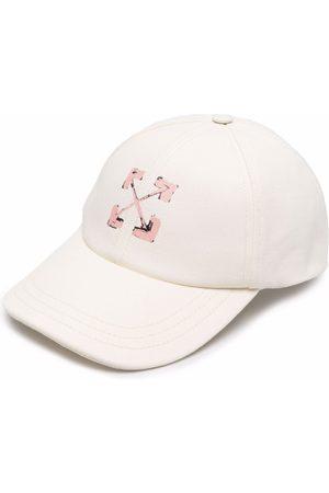 Off-White Arrows motif-print baseball cap - Neutrals