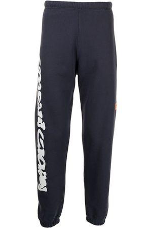 Heron Preston Men Sweatpants - Warped logo track pants