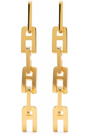 AMBUSH A-chain drop earrings