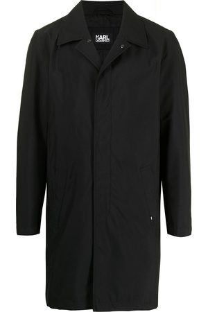 Karl Lagerfeld Peak-lapels single-breasted coat