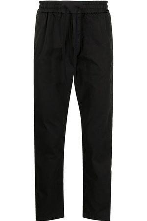 Iceberg Elasticated-waist cotton-blend track trousers