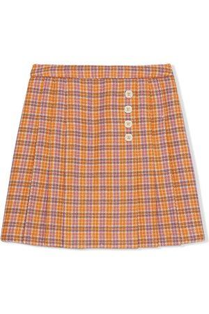 Gucci Kids Check-pattern skirt