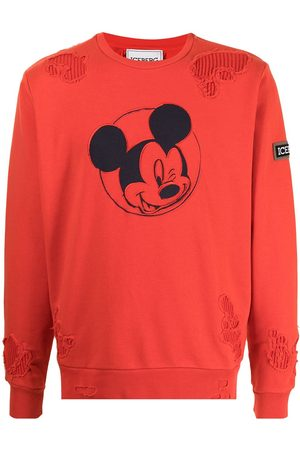Iceberg Men Sweatshirts - Mickey embroidered sweatshirt