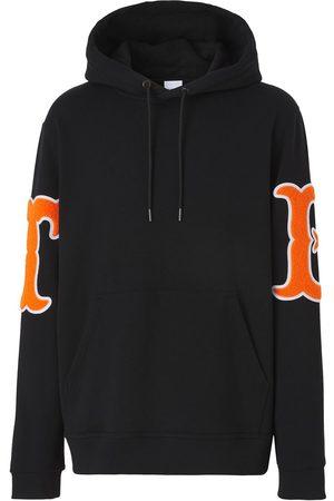 Burberry Letter Graphic appliqué hoodie