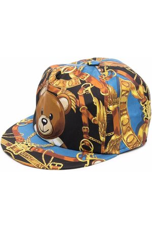 Moschino Men Caps - Teddy-bear graphic-print cap