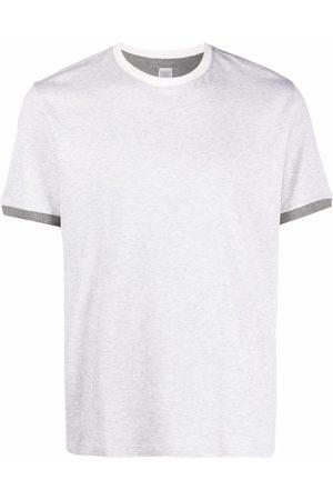 Eleventy Round neck short-sleeved T-shirt - Grey