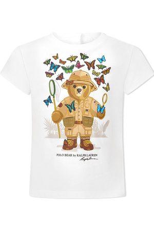 Ralph Lauren Polo Bear-print cotton T-shirt