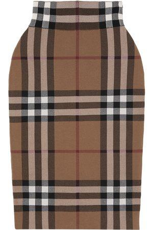 Burberry Vintage Check jacquard midi skirt