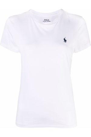 Polo Ralph Lauren Women Short Sleeve - Embroidered-logo short-sleeved T-shirt