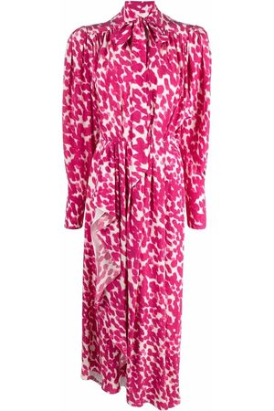 Isabel Marant Bisma leopard-print dress