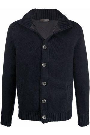 HERNO High-neck wool cardigan
