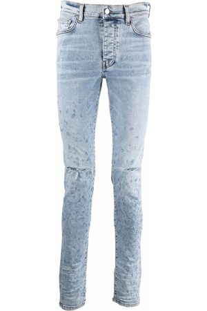 AMIRI Men Skinny - Shotgun distressed skinny jeans