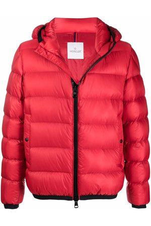 Moncler Men Puffer Jackets - Logo patch puffer jacket