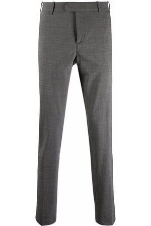 ELEVENTY Straight-leg tailored trousers - Grey