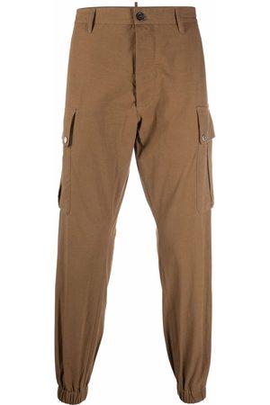 Dsquared2 Men Cargo Pants - Cargo-pockets cotton trousers