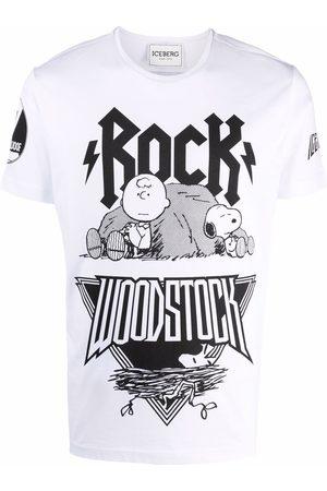 Iceberg Woodstock-print T-shirt