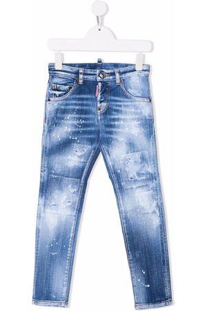 Dsquared2 Kids Boys Skinny - Distressed skinny jeans