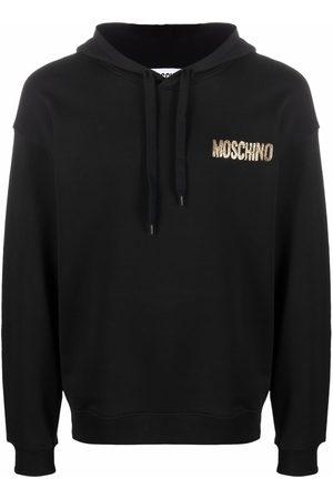 Moschino Men Hoodies - Logo-letter pullover hoodie
