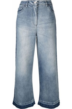 Luisa Cerano Cropped flared jeans
