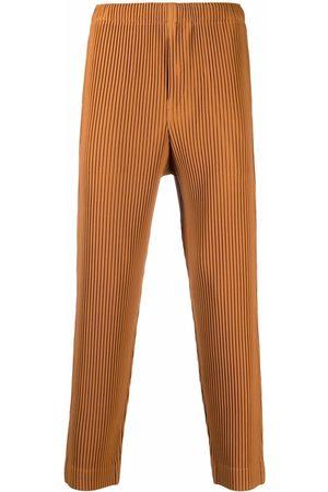 HOMME PLISSÉ ISSEY MIYAKE Plissé cropped trousers