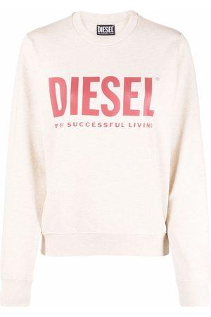 Diesel Logo-print sweatshirt - Neutrals