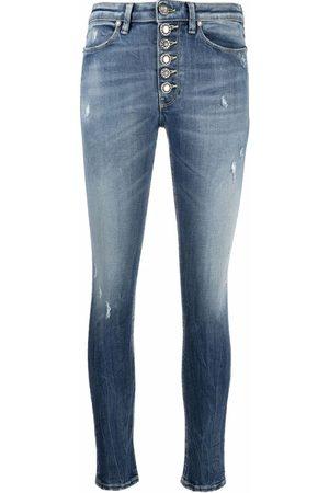 Dondup Distressed slim-cut jeans