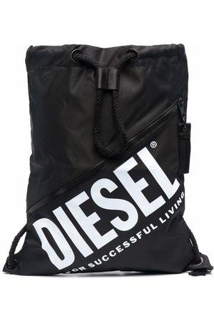 Diesel Logo-print drawstring bag