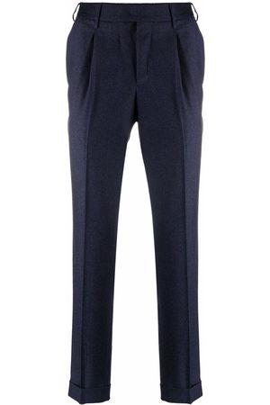 PT01 Slim-cut tailored trousers