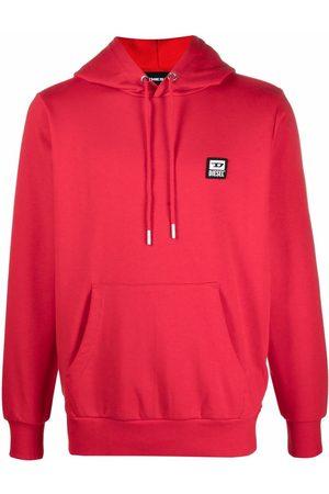 Diesel Men Hoodies - Logo-patch hoodie