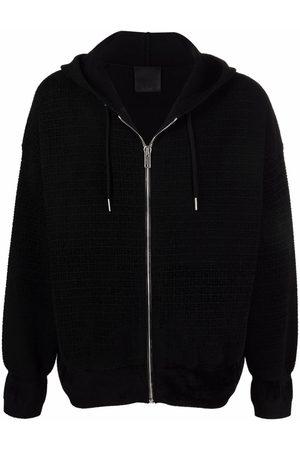 Givenchy Men Hoodies - 4-G zipped hoodie