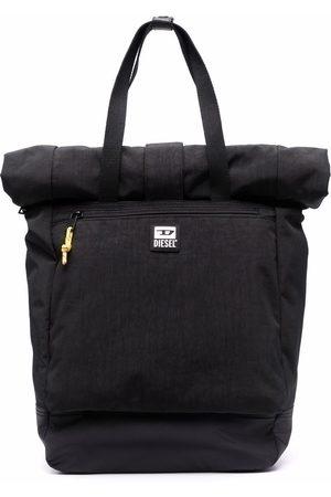Diesel Logo-patch backpack