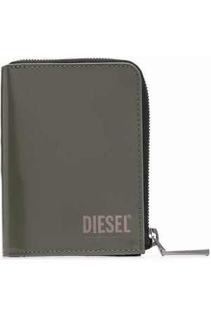 Diesel Logo-print wallet