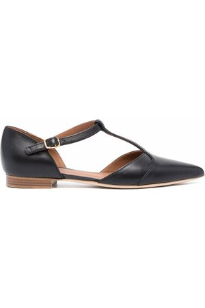 MALONE SOULIERS Ankle-strap ballerina shoes