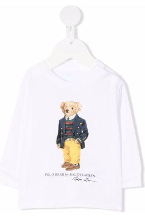 Ralph Lauren Polo Shirts - Polo Bear cotton T-Shirt