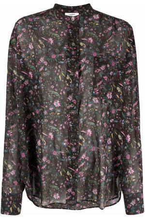Isabel Marant Women Blouses - Floral-print cotton blouse