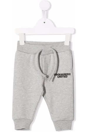 Dsquared2 Logo-print track trousers - Grey