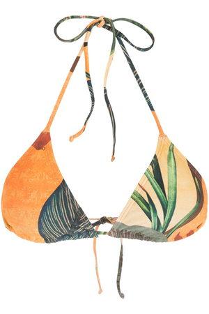 Lygia & Nanny Lido abstract floral-print bikini