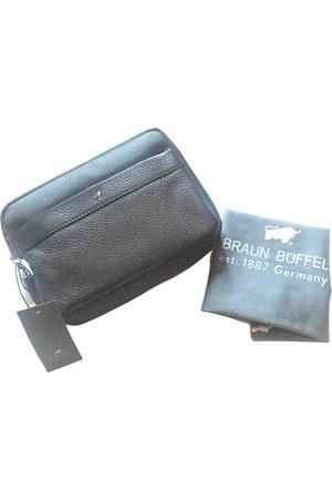 Braun büffel Leather vanity case