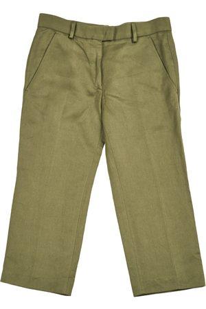 Isabel Marant Khaki Viscose Trousers