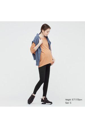 UNIQLO Women's Ribbed Maternity Leggings, , S