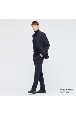 UNIQLO Men's Stretch Wool Slim-Fit Pants, , 29 in.