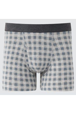 UNIQLO Men's Supima Cotton Boxer Briefs, , S
