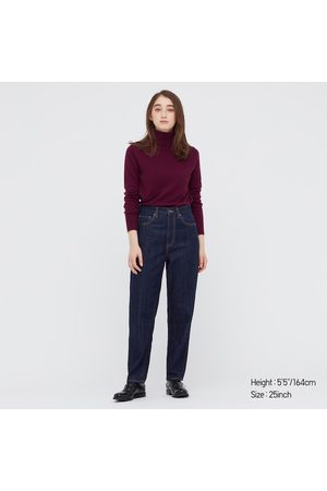 UNIQLO Women's Peg Top High-Rise Jeans, , 23 in.