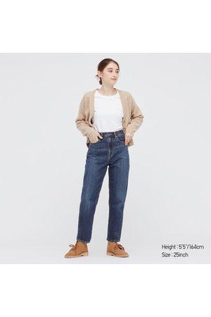 UNIQLO Women Denim - Women's Peg Top High-Rise Jeans, , 23 in.