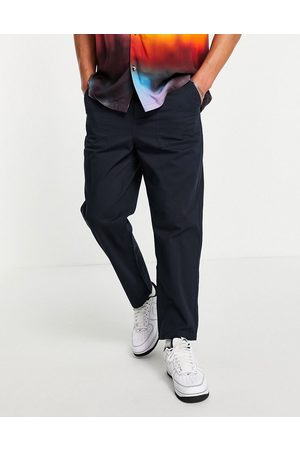 Farah Hawtin relaxed fit pants in navy