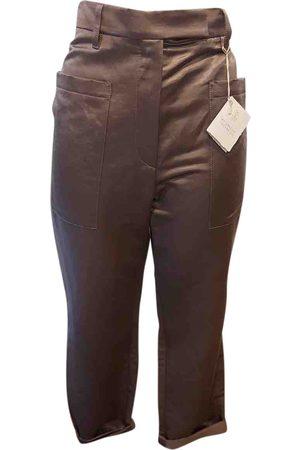 Brunello Cucinelli Linen straight pants