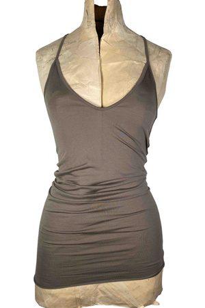 RICK OWENS LILIES Women Tops - Grey Viscose Tops